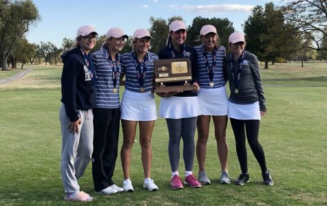 Girls golf places second at state
