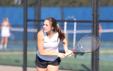 Girls tennis places sixth overall at EKL tournament