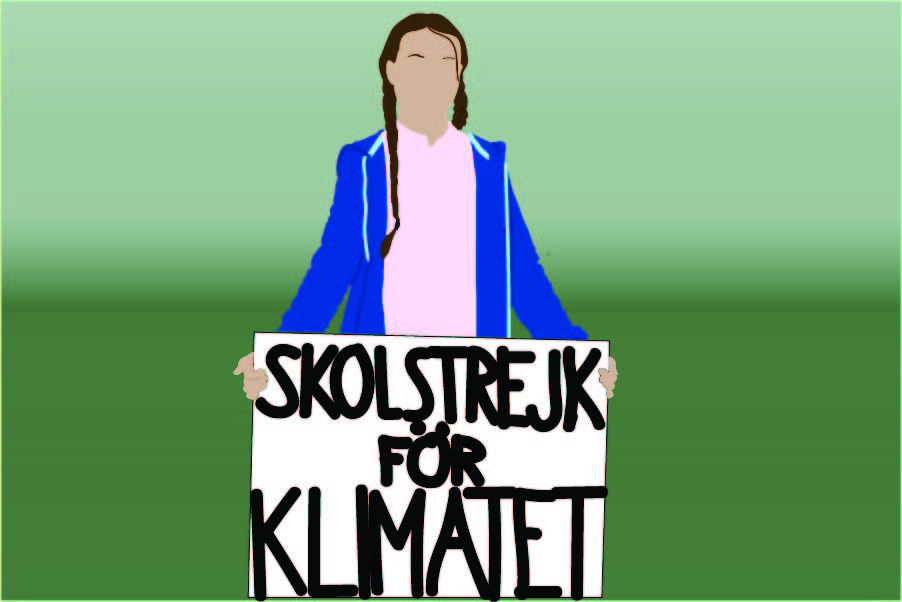 Climate activist Greta Thunberg, despite being only 16 years old, has massively influenced the world's opinions on climate change.