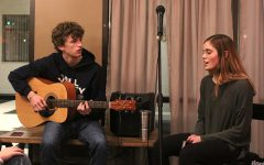 Students participate in Open Mic Night