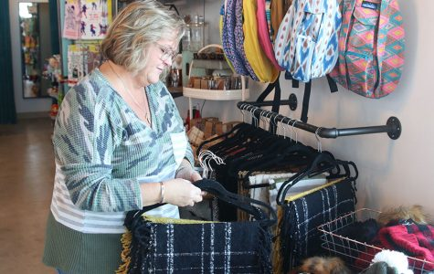 Working at Embellish Boutique has been a way for para Robin Roberts to get a second source of income on top of working at the school.