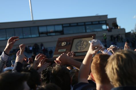 Pep rally held to celebrate the football team going to state