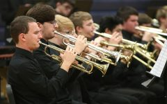Band performs at winter concert