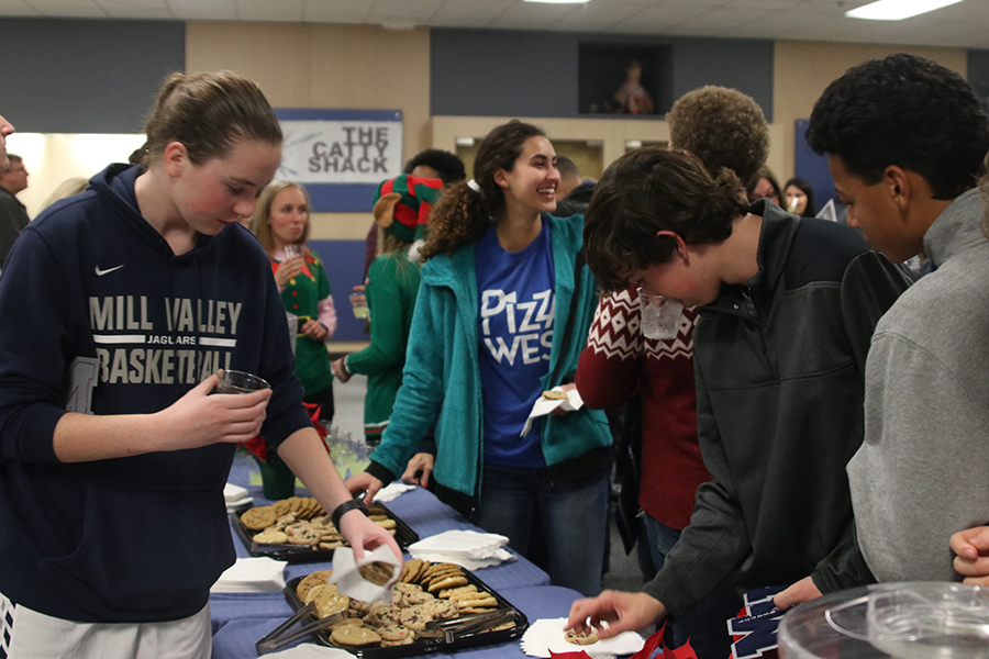 After being recognised students and parents had the opportunity to get cookies and lemonade in the commons.