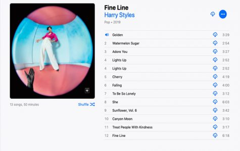 'Fine Line' is an impressive second solo release from Harry Styles