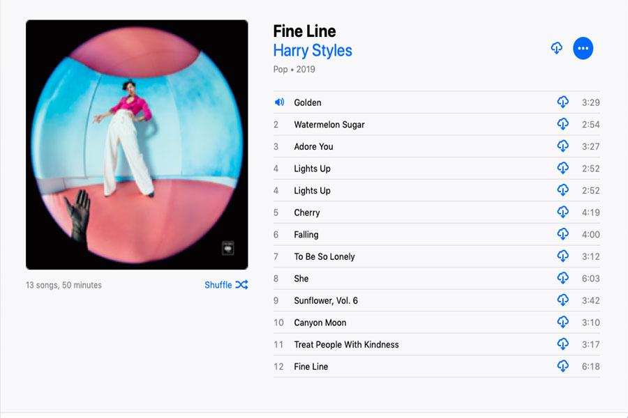 Pop-rock+singer+Harry+Styles+released+his+second+album+on+Friday%2C+Dec.+13.