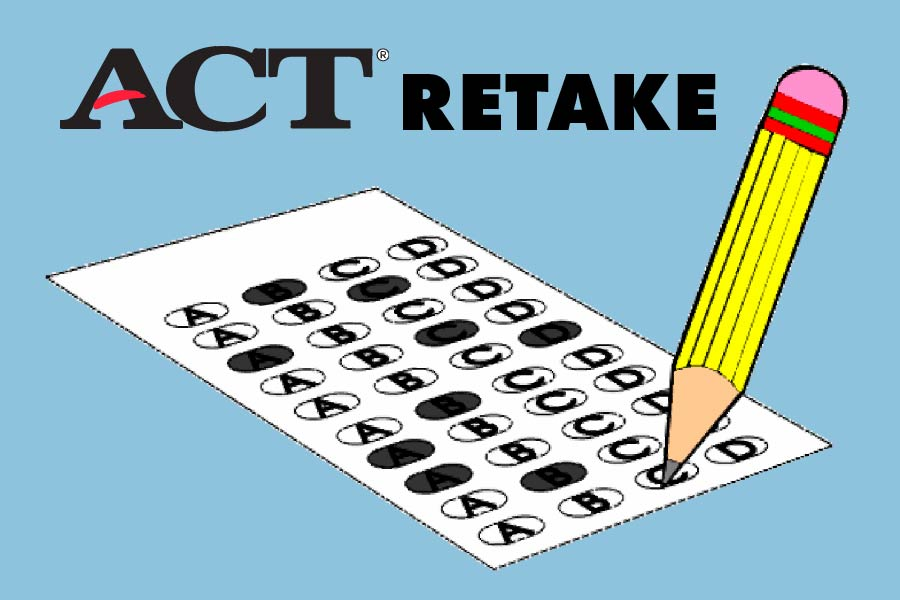 The ACT will start allowing students to retake sections of the test starting fall 2020