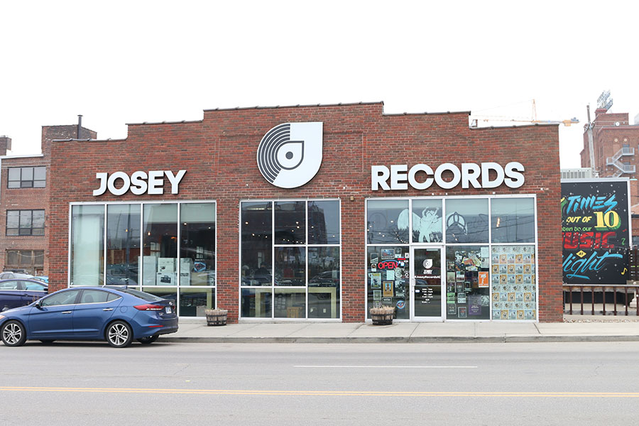 Josey+Records+is+located+on+Oak+Street+in+the+Crossroads+District+of+Kansas+City+Missouri.%0A
