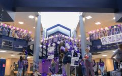 Purple bomb held to promote Relay For Life