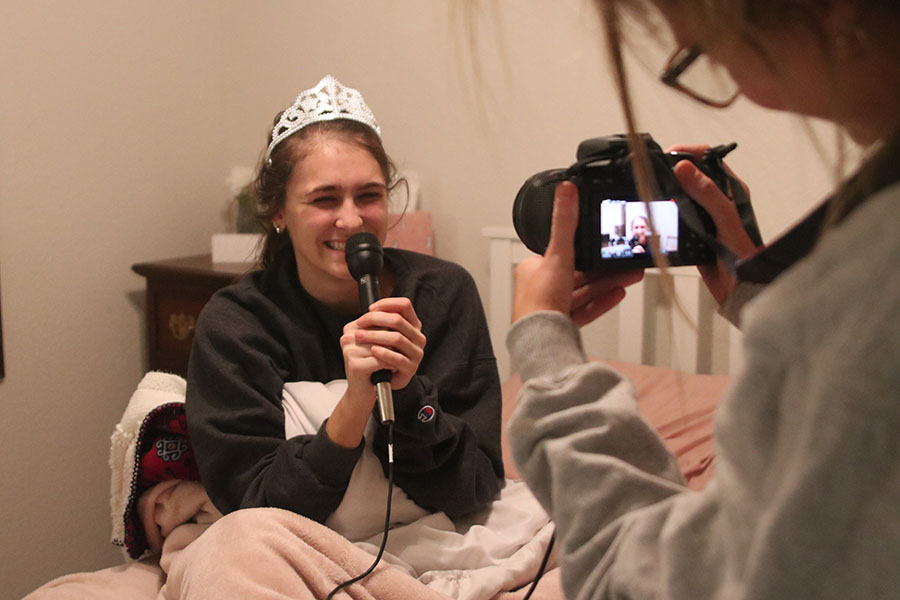 At 5:30 am senior Abby Miller wakes up to find out she is a WoCo candidate.