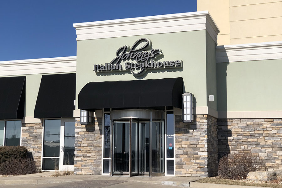 Johnnys Italian Steakhouse is located on 12080 South Strang Line Rd. in Olathe.