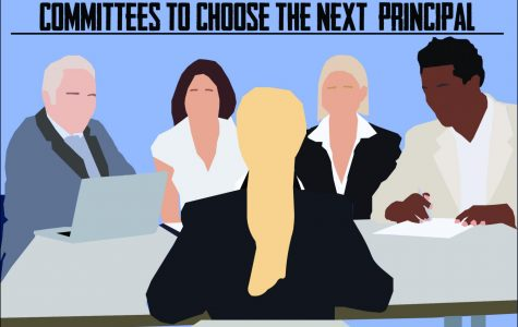 In the search for a new school principal the district decided to include students, faculty and community members in the process by forming three separate committees who would get to interview the three principal candidates and help choose who they thought was the most qualified to be the next principal.