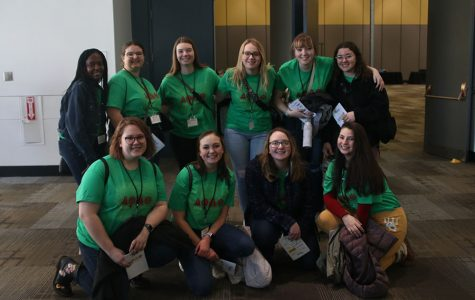 The Society of Women Engineers club attended a conference Friday, Feb. 21 held at the Kansas City Convention Center for similar clubs from around Kansas.