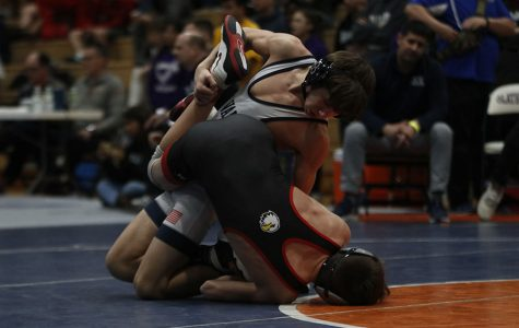 Wrestling team takes first at regionals