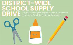 Youth for Refugees organizes district-wide school supply drive