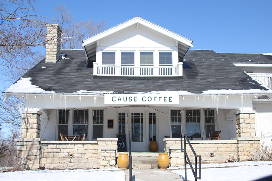 Located in downtown DeSoto, Cause Coffee is a locally owned coffee shop that offers a variety of drinks and food options.