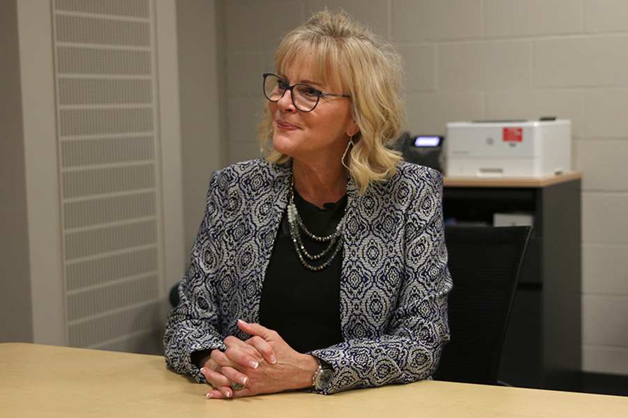 "In an interview Thursday, Feb 20, future Mill Valley principal Gail Holder discusses her ambitions for the school. ""I'm going to do everything I can to be the very best version of the building principal,"" Holder said."