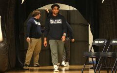 Students and community celebrate wrestling state title with a pep assembly