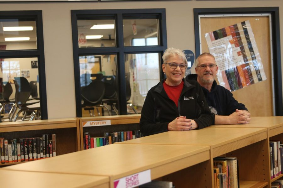 Gifted services facilitator Carmen Shelly and librarian Andy Shelly have made the decision to retire from working at the school after 20 years.