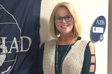 Excited to be a part of the school this year, New principal Dr. Gail Holder has high expectations for students and looks forward to inspiring them to pursue their dreams.