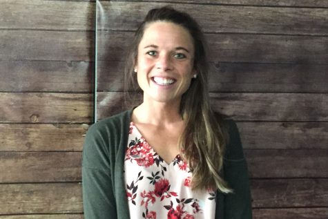 New English teacher Jamie Kellog has a strong passion for engaging with her students.
