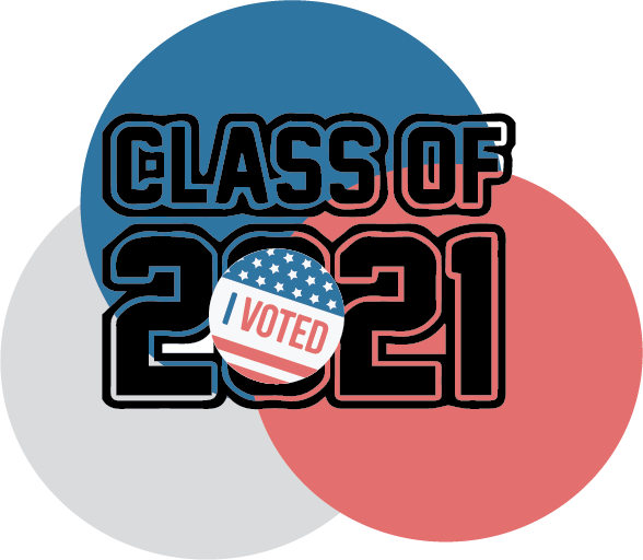 In this years election, some students in the Class of 2021 became eligible to vote for the first time.