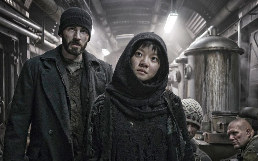 Chris Evans and Asung Ko starred in the 2013 sci-fi movie