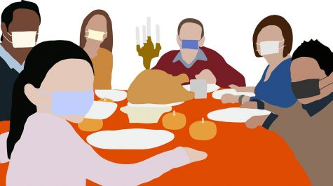 In the midst of a pandemic, what precautions are students taking and how are they celebrating thanksgiving this year?