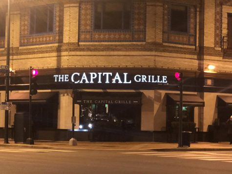The Capital Grille is located in the Plaza at 4760 Broadway Blvd., Kansas City, MO 64112.