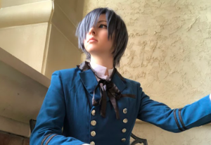 Portraying his sheer deviousness, senior Jaclyn O'Hara brings to life the Black Butler villain Ciel Phantomhive.