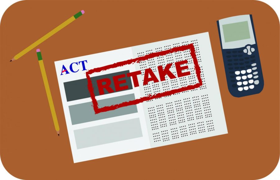 ACT notified the district that they will not score the exam administered on Tuesday, March 2. Juniors will now be required to retake the exam on Tuesday, April 6.