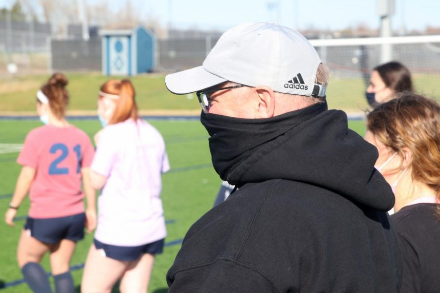 Coach Waldron being a college coach for many years, knows how to help the players.