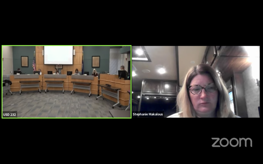 The board meets via Zoom for their Monday, March 22 meeting.