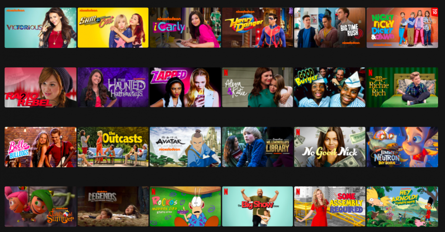 Many+shows+from+Nickelodeon+have+become+popular+on+Netflix.+