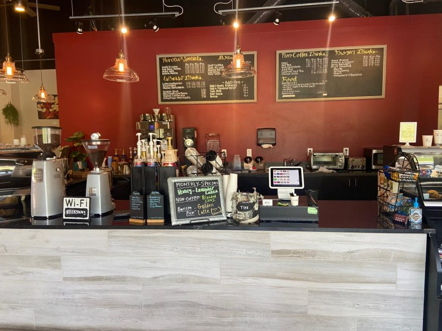 Customers can explore the wide variety of drink and pastry options offered at Revocup, although the pastries offered varies depending on location.