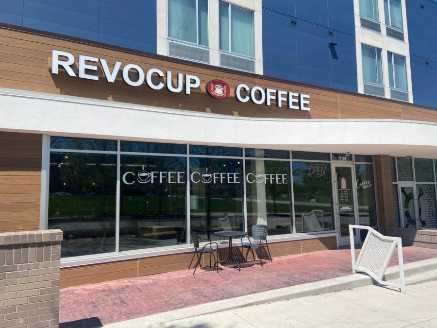 Located in Lenexa, Revocup Coffee is an enjoyable and modern coffee shop for students to try.