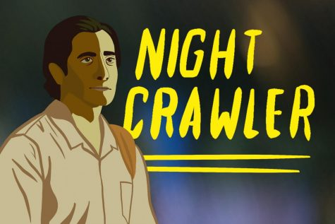 """The movie """"Nightcrawler,"""" featuring Jake Gyllenhaal, was reviewed by Mill Valley News staffers Hannah Chern and Tanner Smith."""