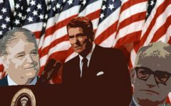 Barry Goldwater, Ronald Reagan and leaders of conservative media — like Sean Hannity — are responsible for the spread and development of conservatism in America.
