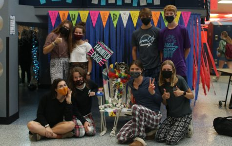 Students participate in Homecoming spirit days